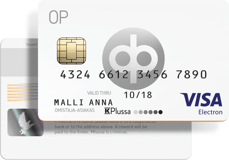 Op Visa Electron Ulkoasu